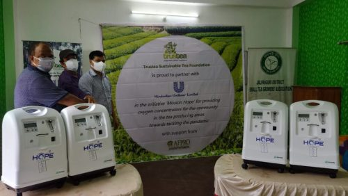 Supplying oxygen concentrator to covid 19 victims